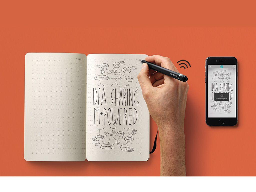 Moleskine Ci Che Scrivi O Disegni Su Carta Diventa Digitale