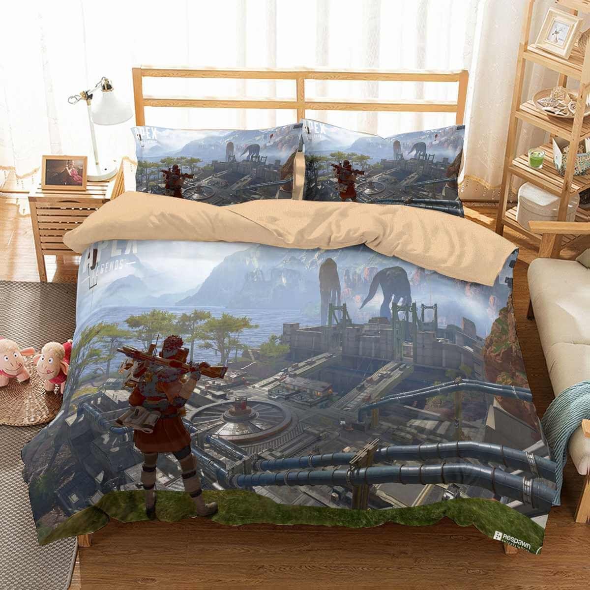 3d Customize Apex Legends Bedding Set Duvet Cover Set