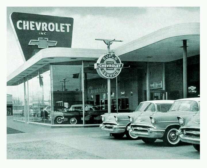 1957 Chevrolet Dealership Chevrolet Dealership Chevy