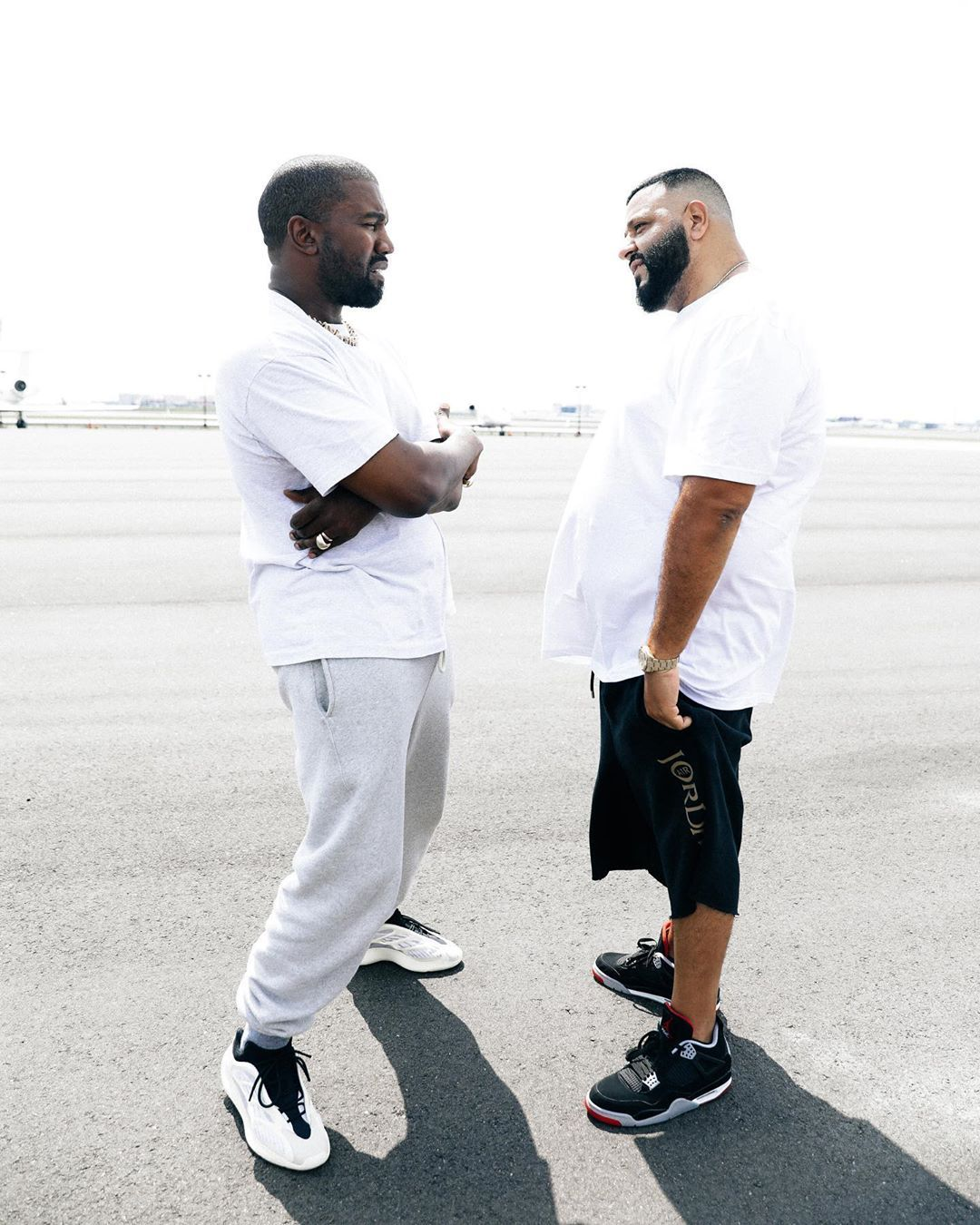 Kanye West Gifted Dj Khaled Unreleased Yeezy 700 V3 From His Feet Kanye West Outfits Kanye Fashion Kanye West Style
