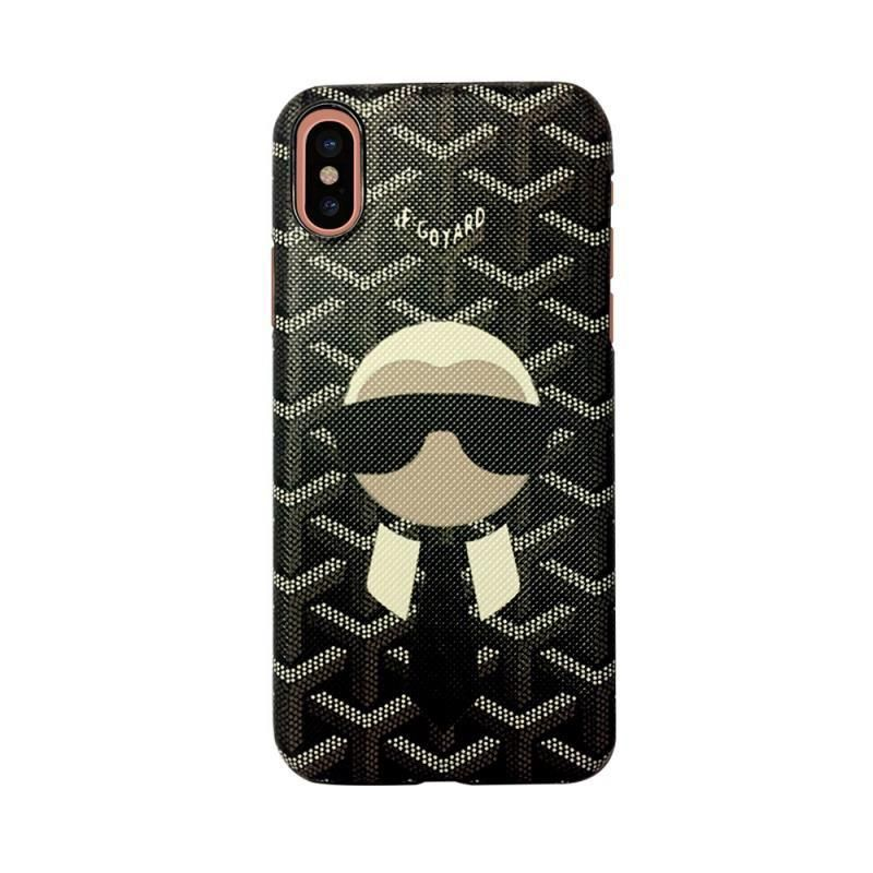 finest selection 95dae 0c7c0 Goyard X Mr Fendi Case for iPhone X - Tomoris | Hyped Iphone Cases ...