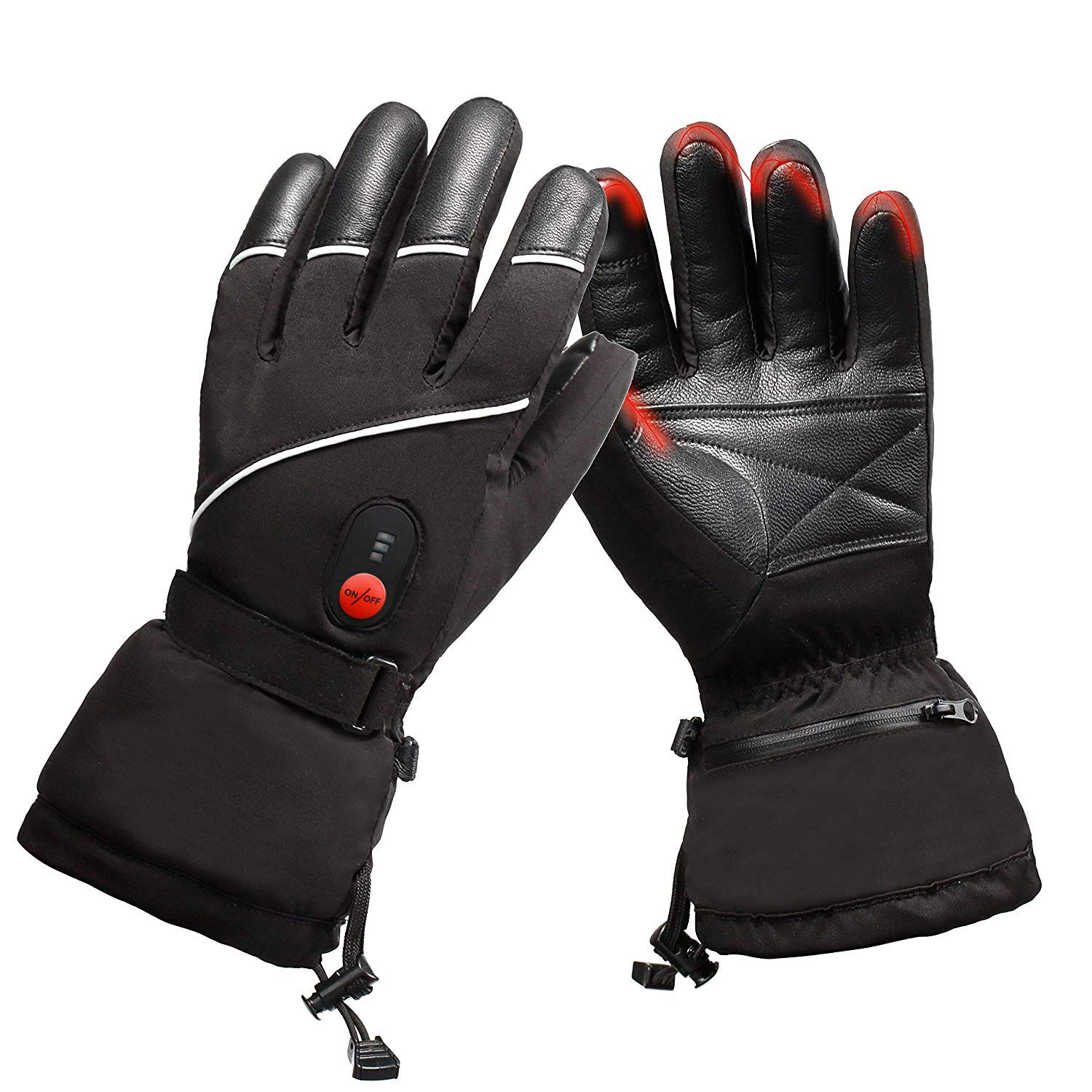 Svspt Heated Gloves Rechargeable Electric Hand Warmer Heated Gloves Gloves Hand Warmers