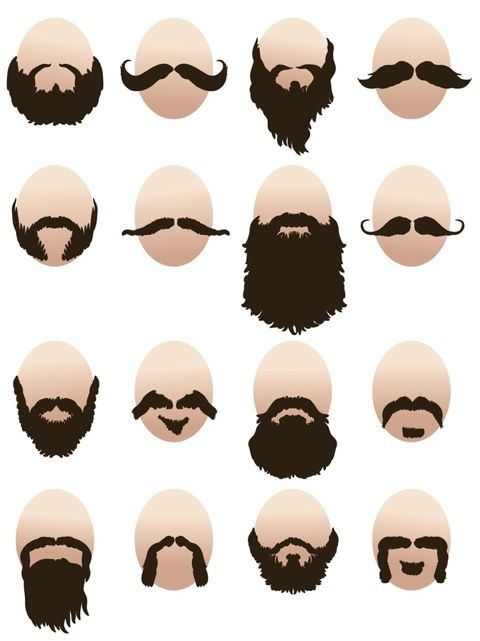 Strange 1000 Images About Facial Hair Ideas On Pinterest Short Hairstyles Gunalazisus