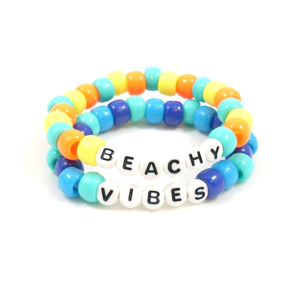 Bring On The Beachy Vibes With This Bright Summer Bracelet Shop