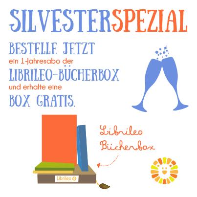 Bestellt bis zum 10.01.2015 ein Librileo-1-Jahres Abo und erhaltet eine Bücherbox gratis mit unserem Silvesterspezial! #silvester #librileo #angebot #special #kinderbuchabo