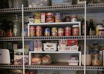 kitchen closet shelves closet kitchen kitchen organization do it yourself decorating on do it yourself kitchen organization id=97454