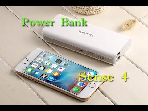 Power Bank Romoss Sense 4 Dual Usb внешний аккумулятор с Aliexpress