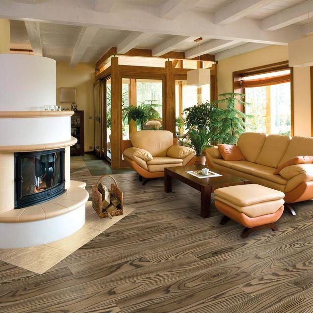 Deska Podlogowa Warstwowa Jesion Walnut 1 Lamel 14 Mm Barlinek Lm 119 Pln M2 Living Room Hardwood Floors Barlinek Beautiful Living Rooms