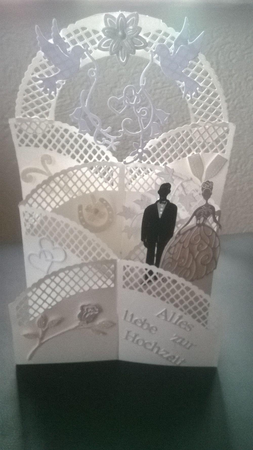 Hochzeitskarten Gluckwunschkarte Zur Hochzeit Aufstellerkarte