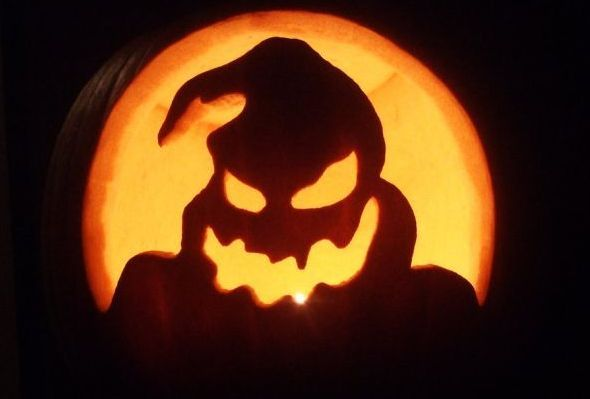 Oogieboogie Pumpkin From Nightmare Before Christmas Ill Have To Do A