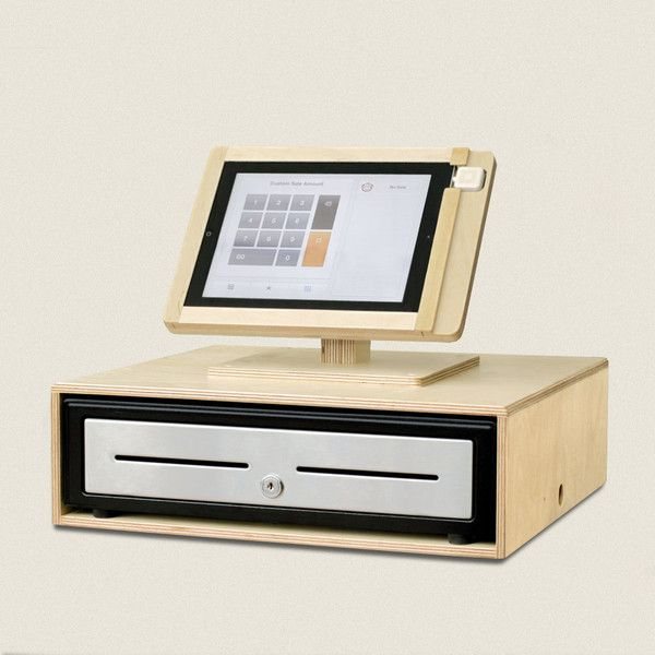 Stand For Ipad Square With Cash Drawer Muebles Para Tienda