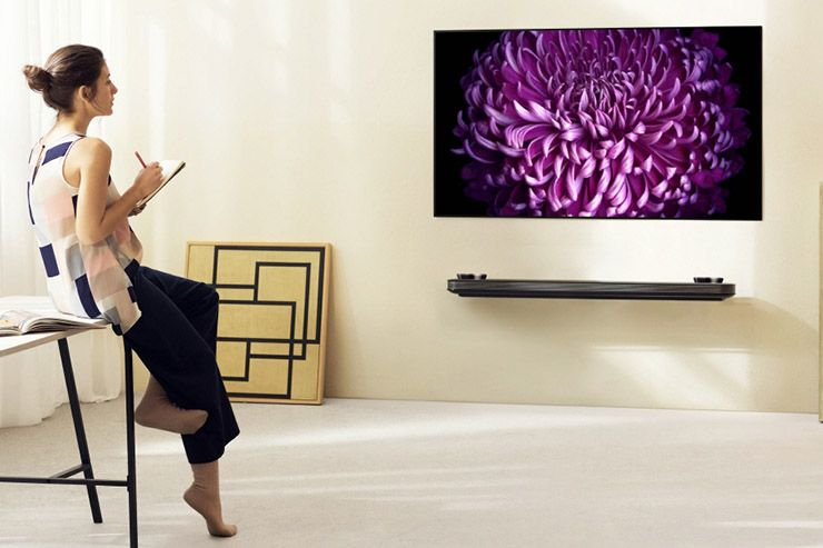 LG Signature OLED TV Serie W, design e qualità