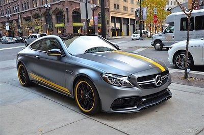 2017 Amg C63 S Used Turbo 4l V8 32v Automatic Rwd Coupe Moonroof Premium