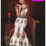 Bridal fancy lehenga chori designs-2012