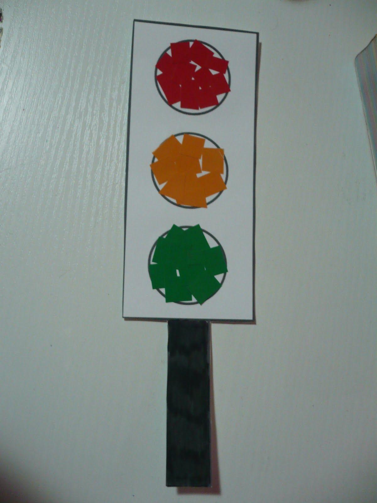 Maro S Kindergarten Traffic Light Collage