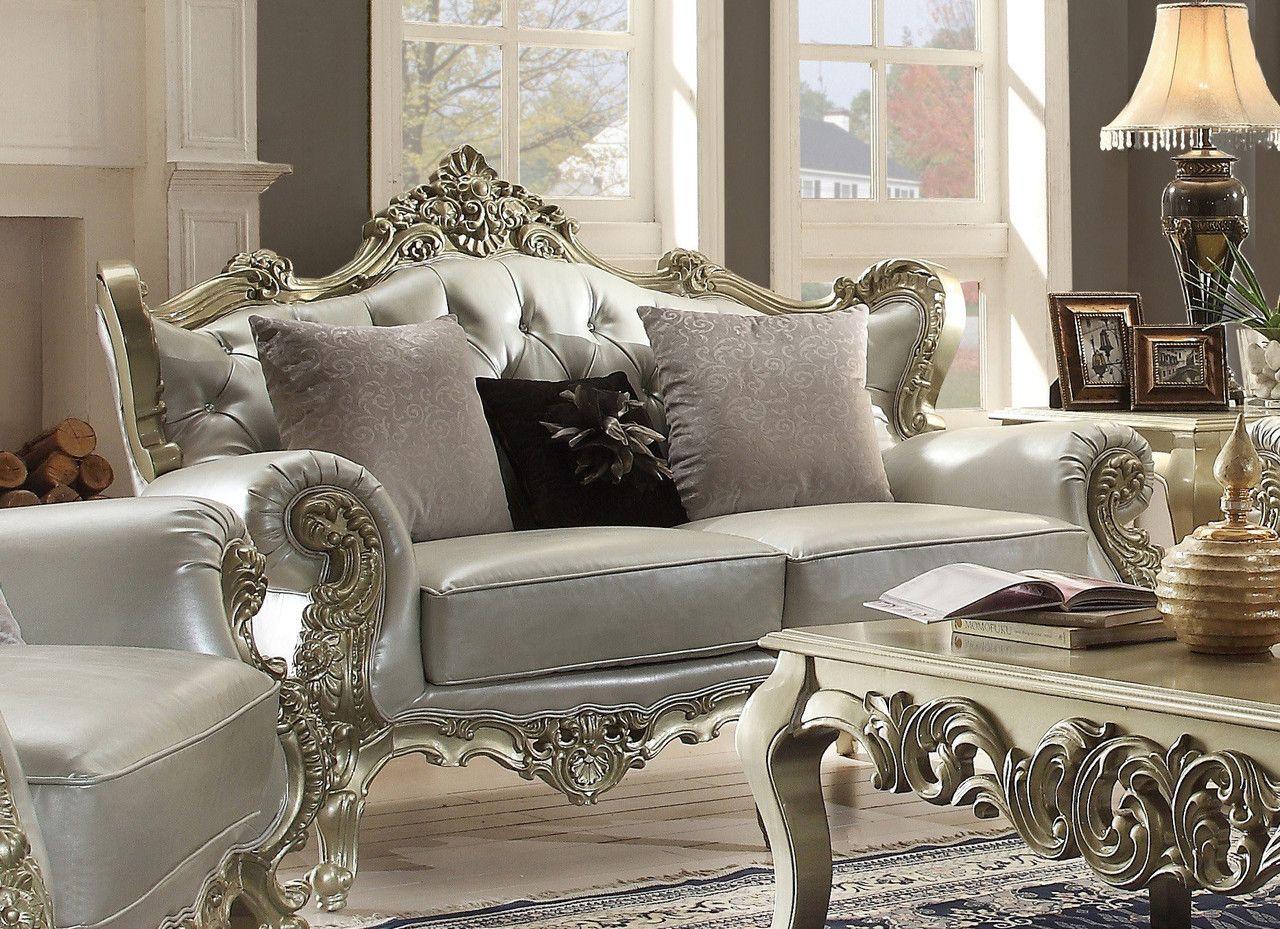 Homey design hd victorian european pcs sofa set sofa set
