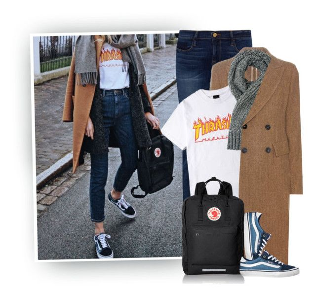 """""""🎶""""Got My Vans On But They Look Like Sneakers..."""""""" by hollowpoint-smile ❤ liked on Polyvore featuring Frame, Isabel Marant, rag & bone, Vans and Fjällräven"""
