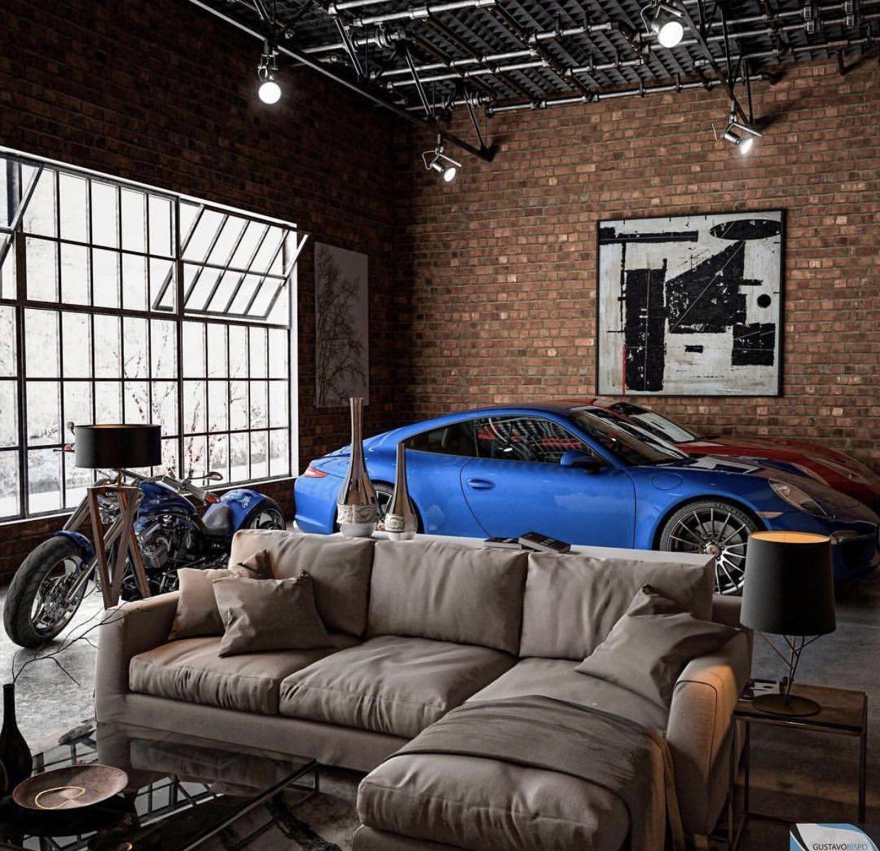 Garage Interior Design Ideas To Consider: Loft Interior Design, Loft Interiors