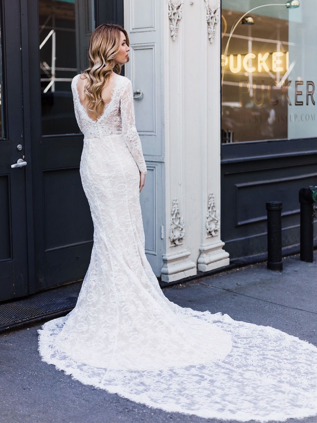 Nature wedding dress  Our Gorgeous Selena Bridal Gown  Book your appointment here for