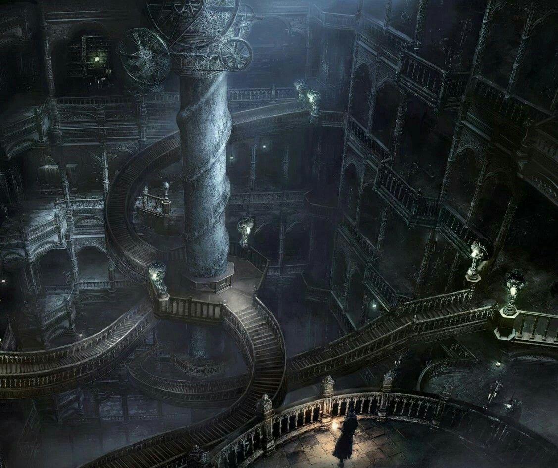 Bloodcraft Image By Chanael Decembre Bloodborne Art Fantasy Landscape Concept Art