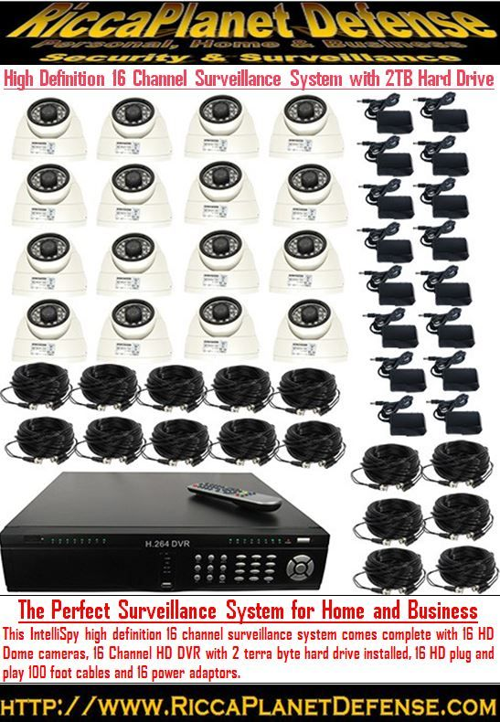 The Perfect Surveillance System for Home and Business High