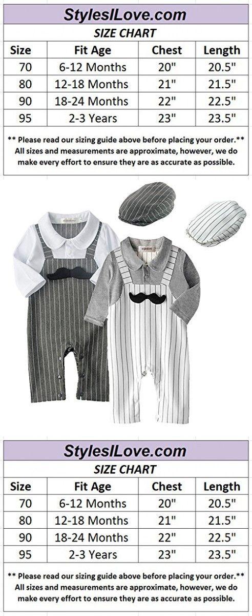 be38888f8 Stylesilove 3D Mustache Long Sleeve Baby Boy Romper Onesie Clothing ...