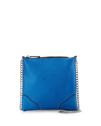 Heaven+Chain-Strap+Crossbody+Bag,+Blue+Matte+by+Cynthia+Vincent+at+Neiman+Marcus+Last+Call.