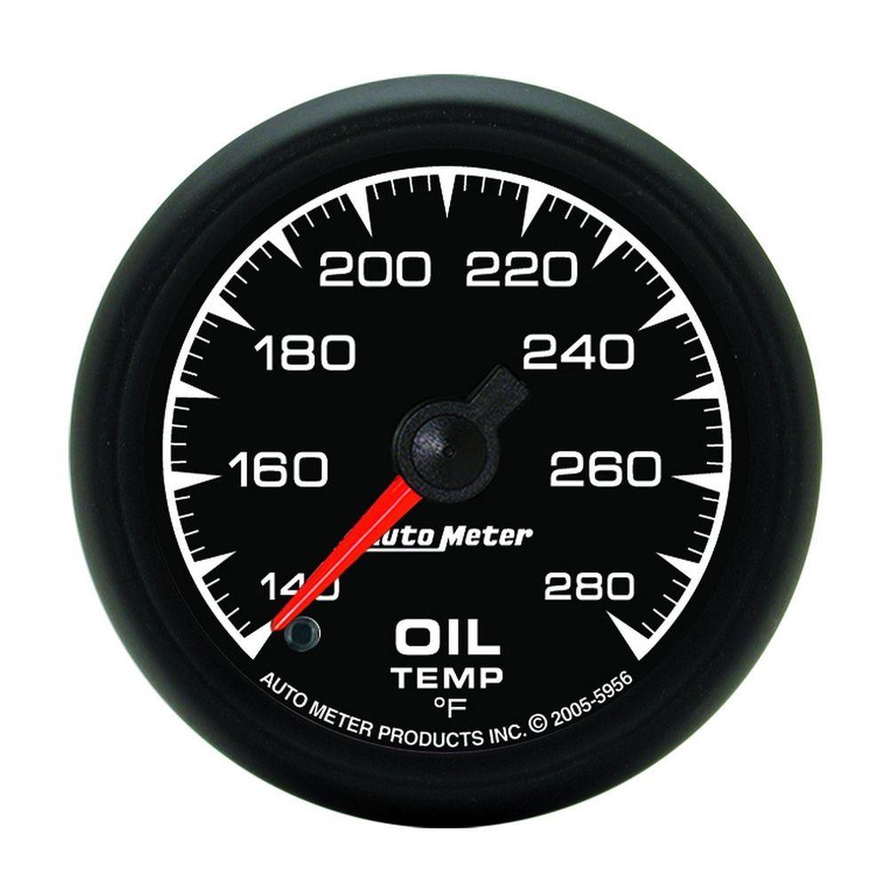 medium resolution of autometer 5956 es electric oil temperature gauge