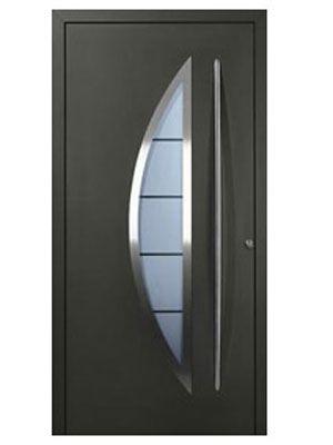 Fabricantes de puertas met licas lino pinterest for Puertas metalicas exterior