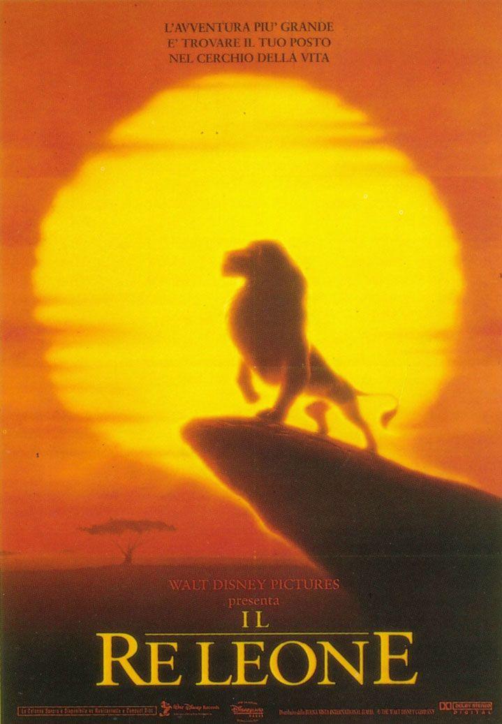 Il re leone il primo teaser trailer e poster del live action