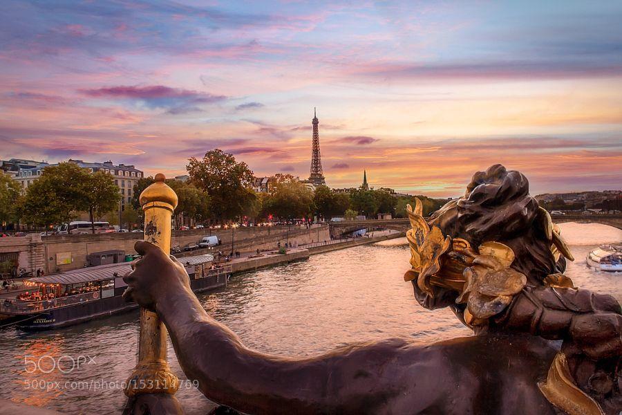 Bridge in Paris by karmakoma37