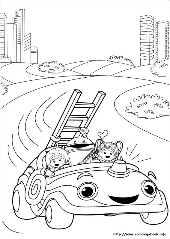 umizoomi coloring picture  coloring pages online