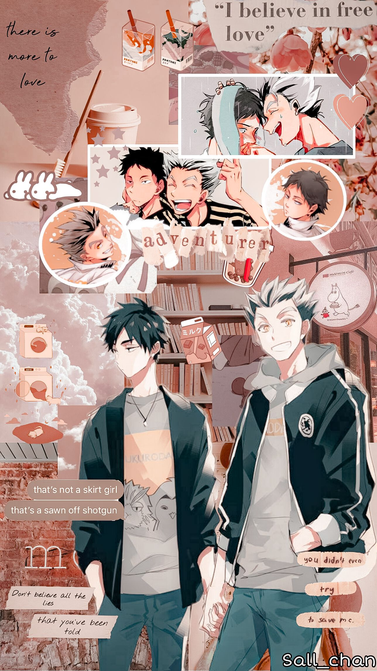 Anime Wallpaper Bokuaka Haikyuu Aesthetic Wallpaper In 2020 Haikyuu Anime Anime Wallpaper Iphone Cute Anime Wallpaper
