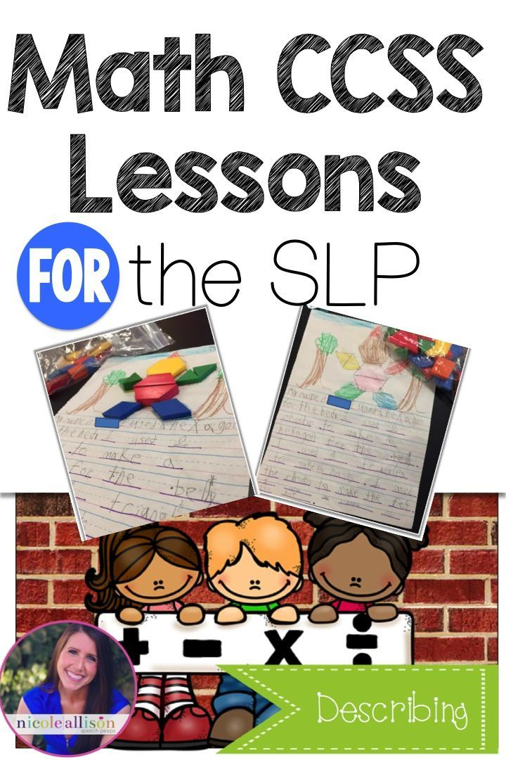 Yes, Speech Language Pathologists CAN work on Math skills! Here how to make it easy.