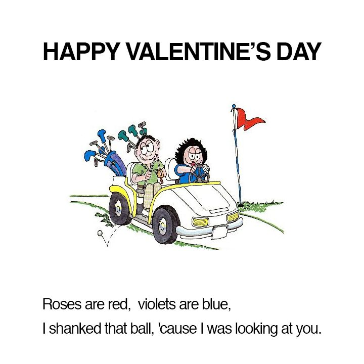 Happy Valentine S Day Funny Golf Pictures Golf Inspiration Golf Humor Jokes