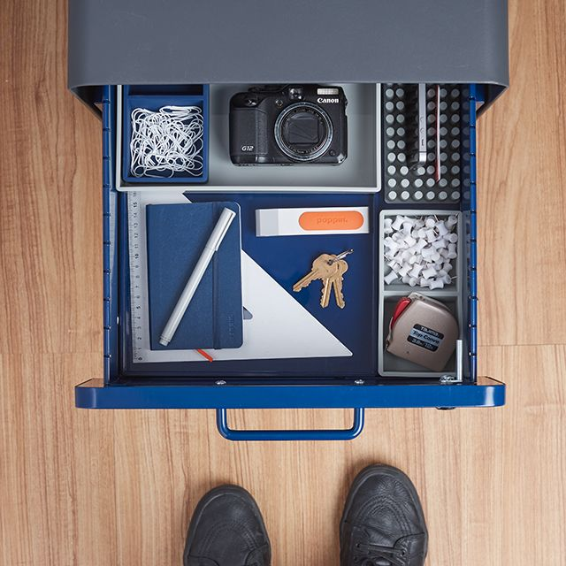 Poppin Senior Production Manager Caleb Likes His File Cabinet Sophisticated  And Full Of The Essentials.