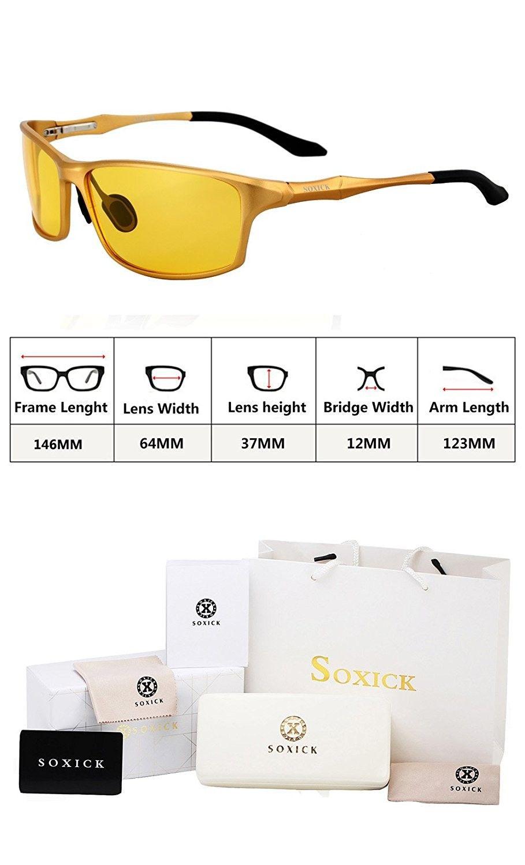969ca422b5 Fashion Premium Polarized Anti glare Sunglasses - Black Gold Oval ...