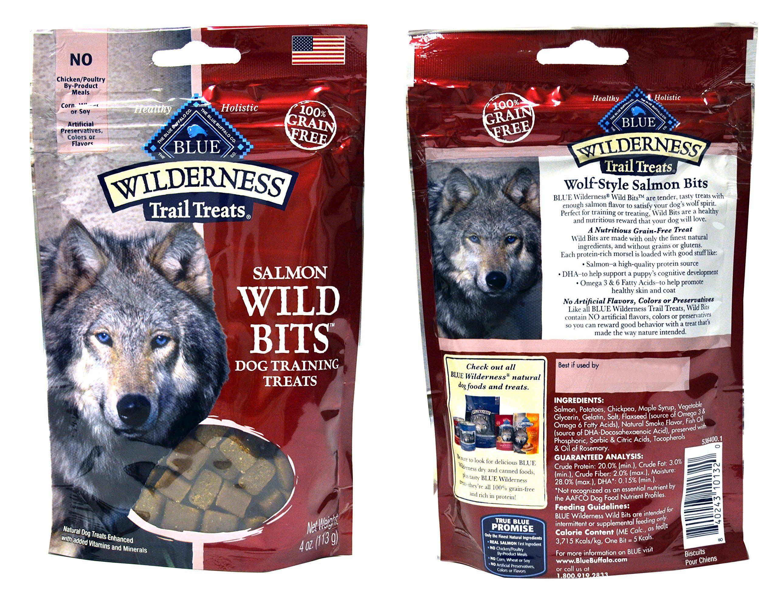 Blue Buffalo Wilderness Trail Treats Grainfree Wild Bits Dog
