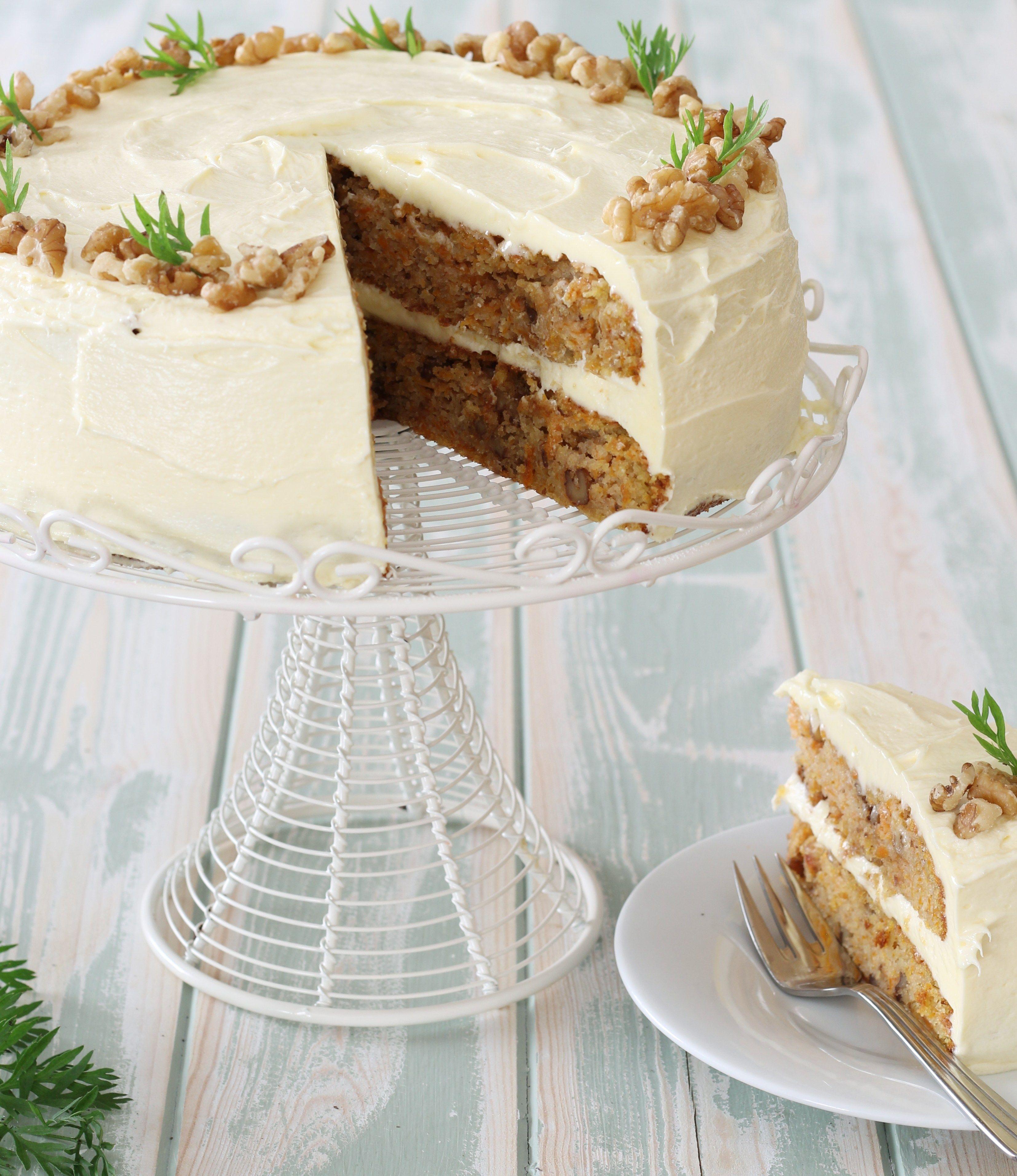 Gluten free carrot walnut cake cake walnut cake