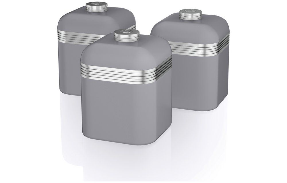 Buy Swan Canister Set Grey At Argoscouk Your Online