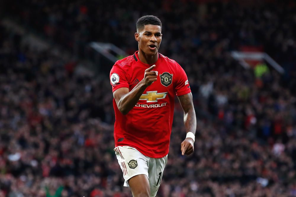 Marcus Rashford Says Culture At Manchester United Helps Deal With Pressure Fourfourtwocatch All Of The Action Manchester United Marcus Rashford Premier League