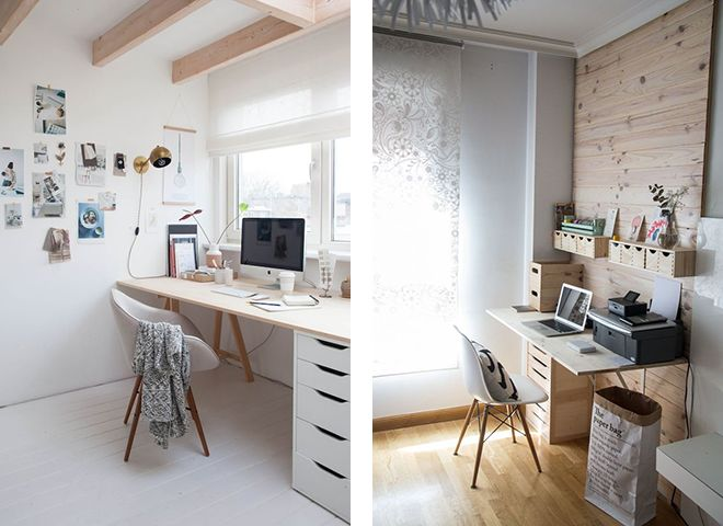 ikea office inspiration. Ikea Office Inspiration, Scandinavian Interior Design, Lightwood And White, Swedish Desk Offeice Inspiration F
