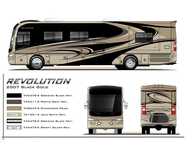 RV paint department RV paint schemes fontana ca | I like this ... on