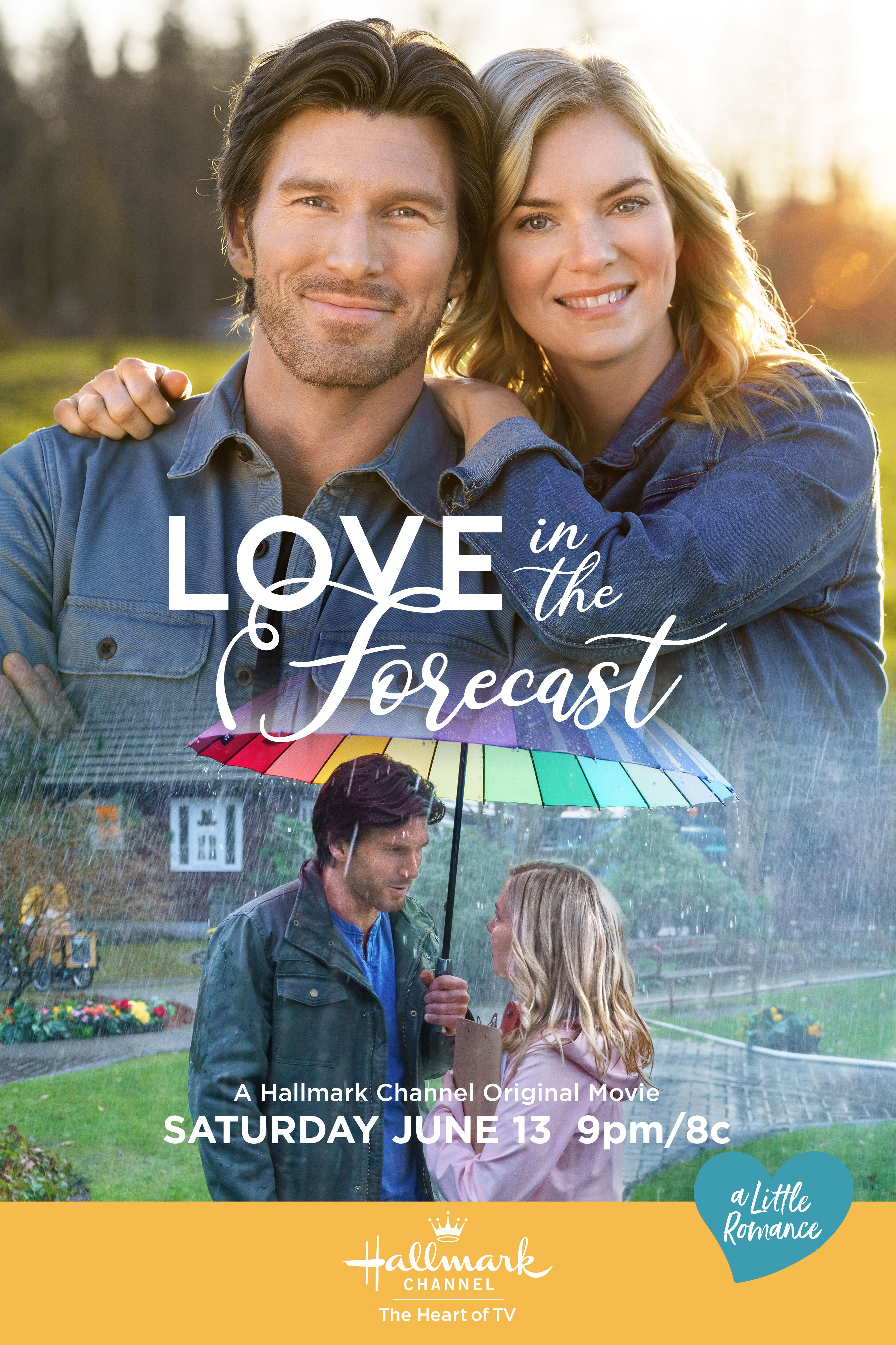 Love In The Forecast In 2020 Hallmark Channel Christmas Movies Hallmark Movie Channel Hallmark Movies Romance
