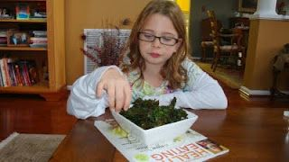 The Kale Chip Challenge!