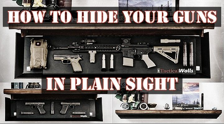 Hidden Gun Storage In Plain Sight Survival Self