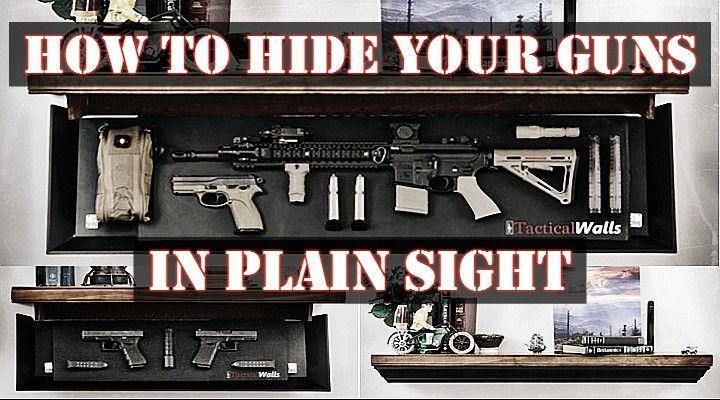 Hidden Gun Storage In Plain Sight Survival Self