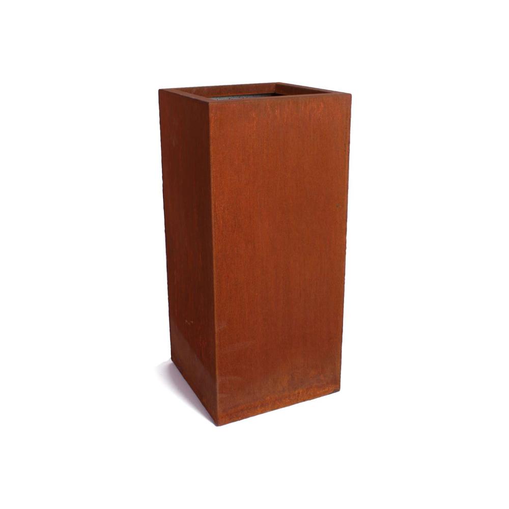 Pedestal Corten Steel Planters Pedestal Steel Furniture 400 x 300