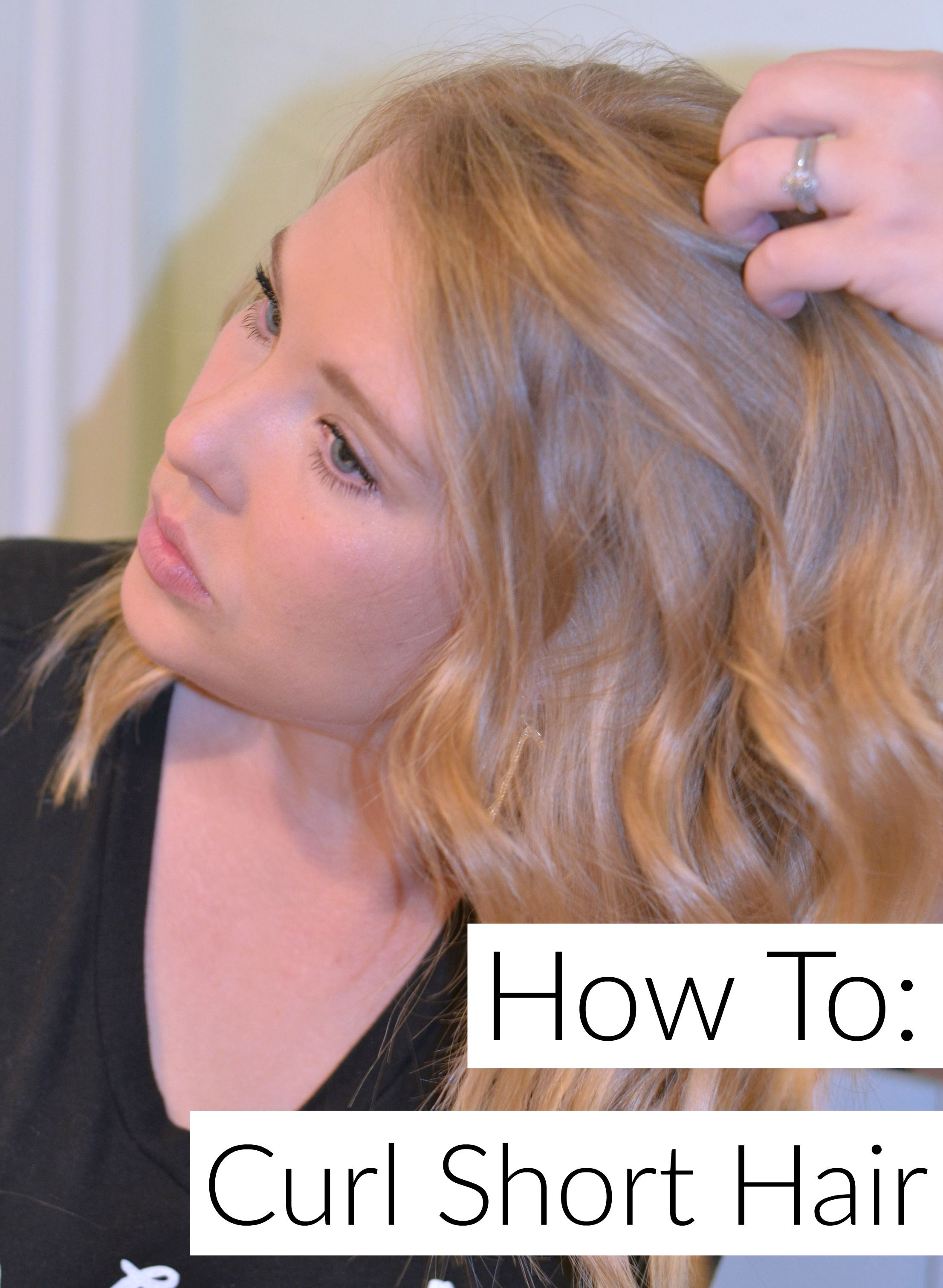 How to curl short hair curl short hair short hair and silver