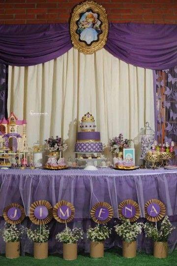 Decoracion De Mesas Decoradas De Princesa Sofia Decoracion